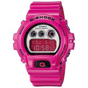 Relógio Casio G-shock Dw-6900 Cs 200m Cronometro Alarme Rosa