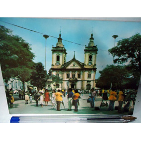 Postal Igreja Velha De Aparecida - S. P. - Anos 60/70