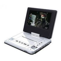 Dvd Portatil 7 Tv 300jogos 2 Joysticks + Sup Fixar Encosto