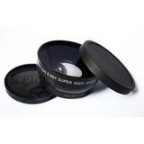 67mm Grande Angular + Macro Nikon D3300 D5300 D7000 D7100