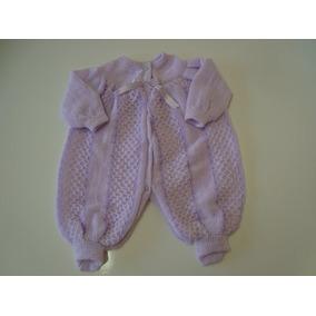 Macacão Lã R-n E P Bebe Nene Enxoval Recem-nascido Infantil