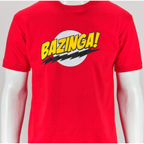 Camiseta Bazinga - Camisa Sheldon, The Big Bang Theory, Geek