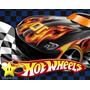 Kit Hot Wheels + Desenha Convites + Cartões Lembrancinhas 00