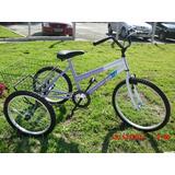 Bicicletas Triciclo De Adulto De Luxo Aro 24 Top
