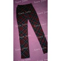 Calza Escocesa Lanilla C/ Spandex - Xoara Jeans