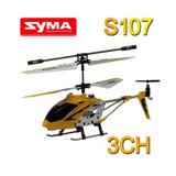 Mini Helicóptero R/c Syma S107 3c - Frete Grátis Todo Brasil