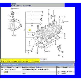 Cabeçote Motor Ford Zetec Rocam 1.6 Gasolina Pelado Sem V