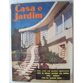 Revista Casa E Jardim Nº 64 - Mai 1960 - Edit. Monumento - W