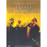 Dvd Ensaio De Orquestra