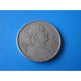 Moneda De 50 Centavos De Josefa Ortiz De Dominguez,año De 1