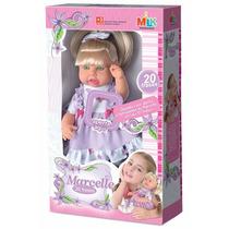 Boneca Bebê Milkinhas Menina Fala 20 Frases Milk Brinquedos