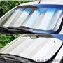 Protetor Solar De Parabrisas Quebra Sol Pra Carros Universal