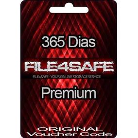 Tarjeta Cuenta Premium File4safe Voucher Personal 365 Dias