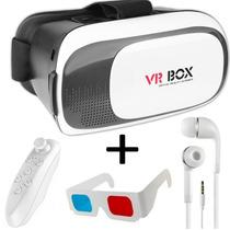 Envío Gratis Lente Realidad Virtual Vr Box Control Regalos