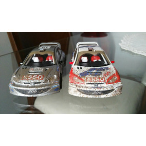 Scalextric Peugeot 206 Rally Efecto Lodo