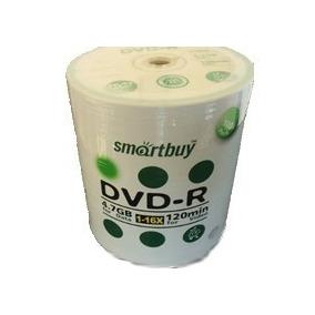 600 Dvd-r Smartbuy 16x C/logo Frete Gratis