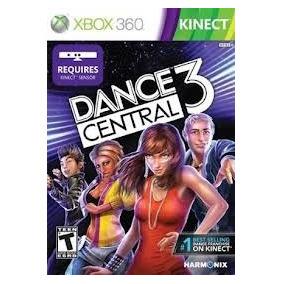 Jogo Kinect Midia Fisica Musica Dance Central 3 Xbox 360