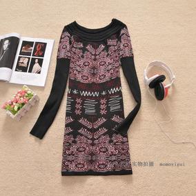 Lindos Mini Vestidos Importados Em Lã - Cores Variadas