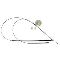 Kit Reparo Vidro Eletrico Fox 4 Portas Dianteiro