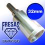 Broca Diamantada P/ Vidro 32mm Serra Copo Artesanato