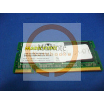Ag21.07 Memória 2gb Ddr2 667 Markvision Dell Inspiron 1526