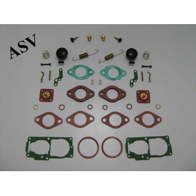 Fusca E Kombi 1600 - Kit Completo De Reparo Dos Carburadores