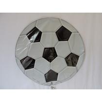 Globos Fútbol Balón Fiestas 5 Pz Helio 18 Pulgadas Eventos