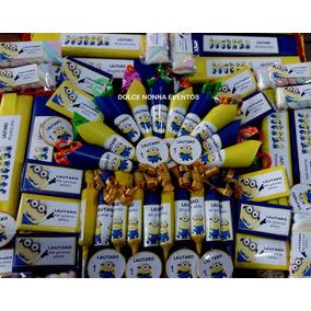 Candy Bar Minions Boca Juniors.10 Chicos/60 Golosinas!!