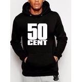 Blusa 50 Cent Rap Eua Unissex Casaco Moletom Canguru!!