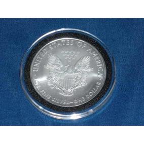 Moeda Dolar De Prata 1 Oz. - Us Silver Eagle Dollar - 2009