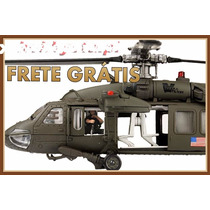 Helicóptero Militar Black Hawk Bagdá Forces Of Valor 1/48