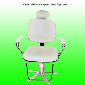 Cadeira Hidráulica Para Corte Top Luxo