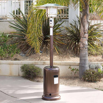 Calenton P/ Exterior Gas Lp 48,000 Btu Acero Color Bronce