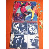 Lote De 2 Discos De Vinilo De Los Rolling Stones