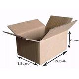 50 Caixa Papelão Correio Sedex 20x13x06 Promoção Da Fabrica