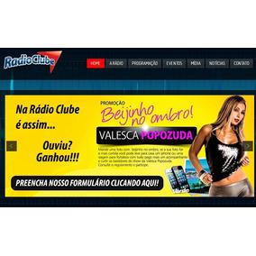 Site Para Web Rádio, Eventos E Baladas Em Wordpress