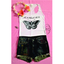Blusas,playeras,top Crop Personalizadas One Direction