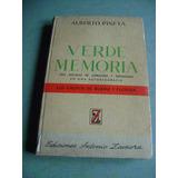 Libro De Biografía De Verde Memoria