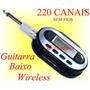 Transmissor S/ Fio P/ Guitarra Baixo Teclado Violão Retorno