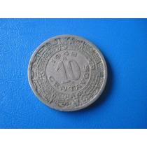 Moneda De 10 Centavos De 1942 De Nikel