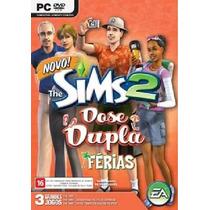 Game Pc The Sims 2 Dose Dupla Férias + Bom Voyage + Estilo T