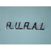 Emblema Rural Do Capô Ford Willys 1960 À 77 Peça Nova Okm