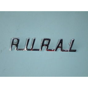 Emblema Rural Do Capô Ford Willys 1960 À 77 Peça Nova Okm