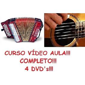 Aulas De Acordeon E Violão Completo! 4 Dvds