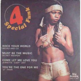 Special Funk Compacto Vinil Weeks & Co. Secret Weapon D´trai