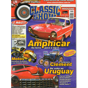 Classic Show Nº16 Amphicar Clément Jeep Motos Uruguay Museu
