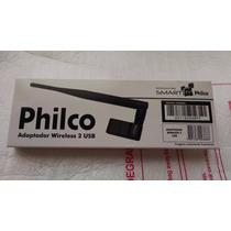 Adaptador Wireless 2 Usb Smart Philco - Novo/frete Grátis