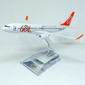 Miniatura Avião Gol Boeing 737 - Hb Toys