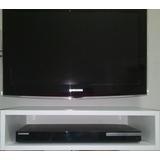 Estante Para Tv Dvd Blu-ray Player Fixar Parede!! Mdf 15mm