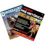 Kit 2 Livros - O Mundo Pré-histórico + Dinossauros Entre Nós